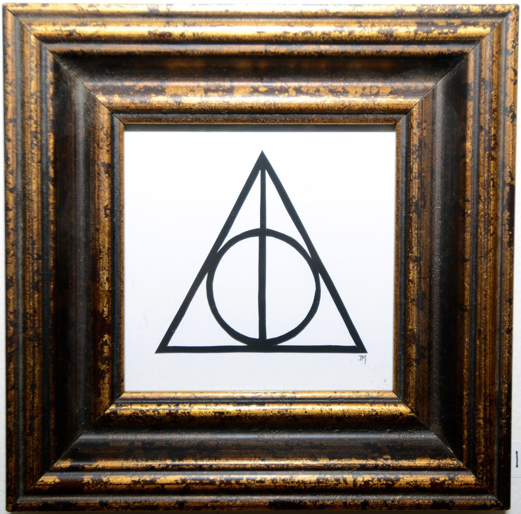 "154.  ""The Deathly Hallows"" by Jordan Monsell - Hero Complex Gallery"