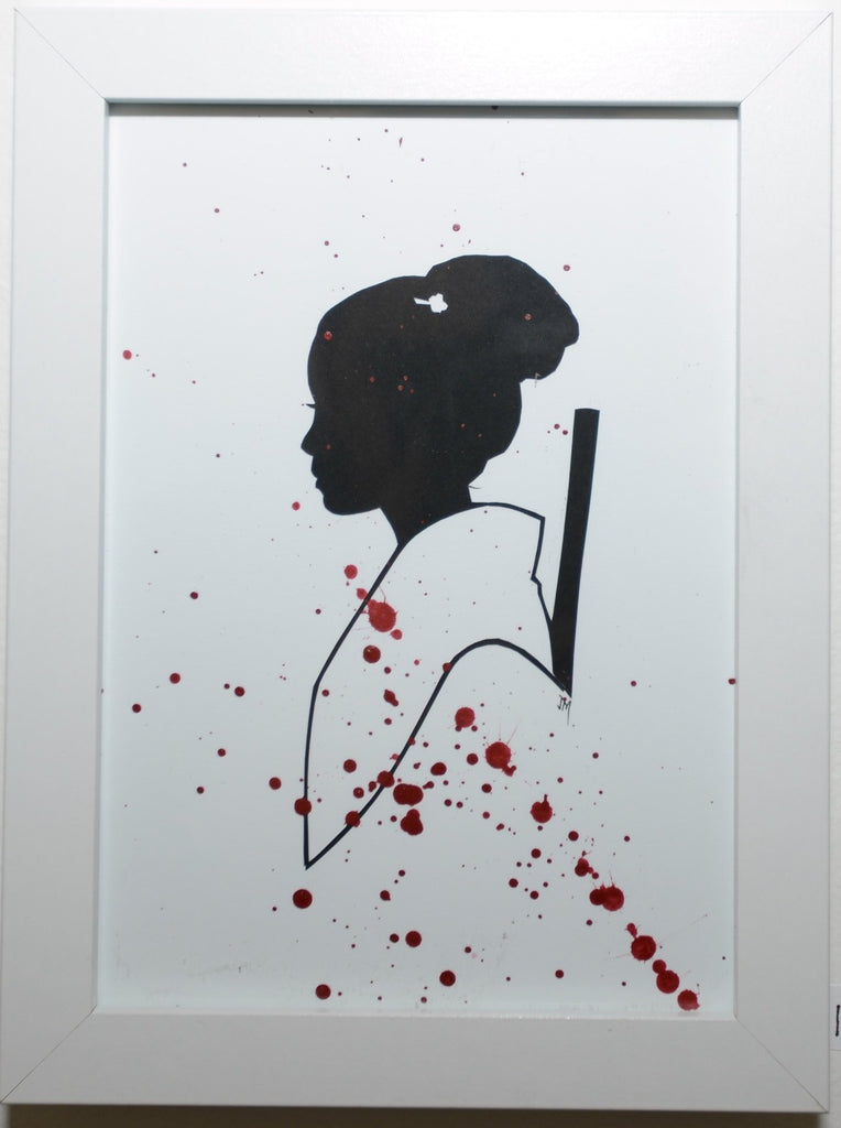 "164.  ""O-Ren Ishii (Kill Bill)"" by Jordan Monsell - Hero Complex Gallery"