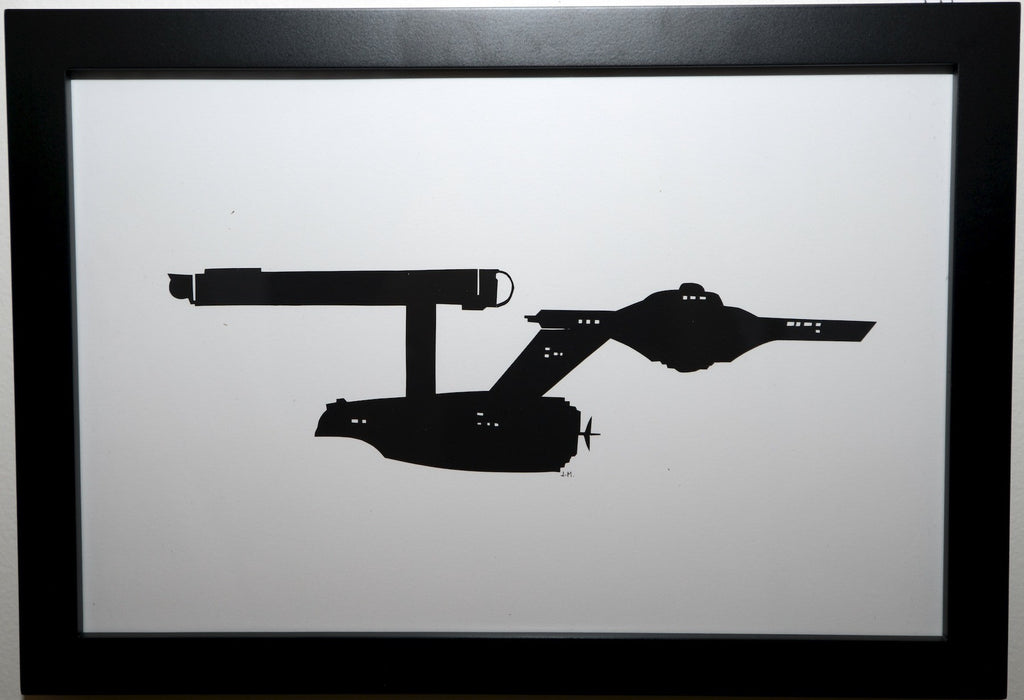 "171.  ""USS Enterprise"" by Jordan Monsell - Hero Complex Gallery"