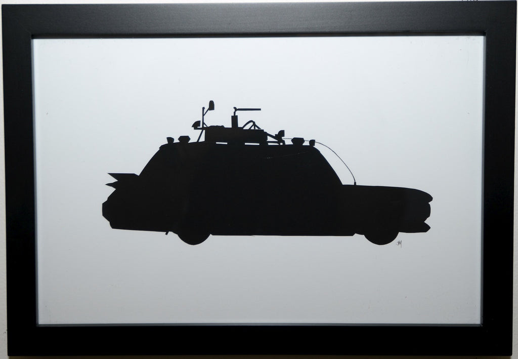 "180.  ""Ecto-1"" by Jordan Monsell - Hero Complex Gallery"