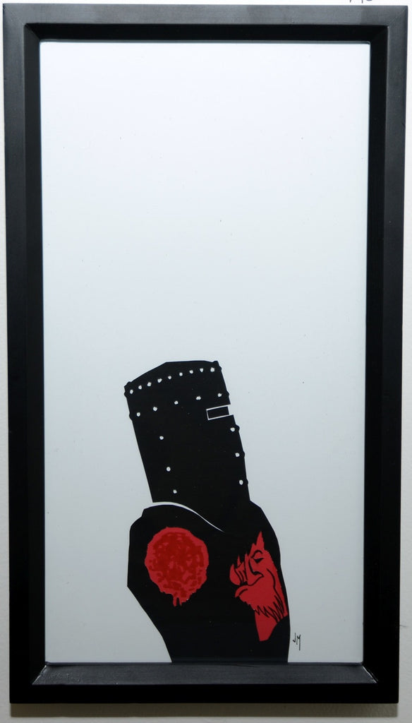 "195.  ""The Black Knight (Monty Python and the Holy Grail)"" by Jordan Monsell - Hero Complex Gallery"