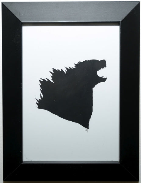 "196.  ""Godzilla"" by Jordan Monsell - Hero Complex Gallery"