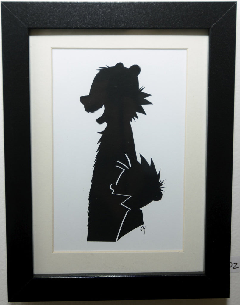 "202.  ""Calvin and Hobbes"" by Jordan Monsell - Hero Complex Gallery"