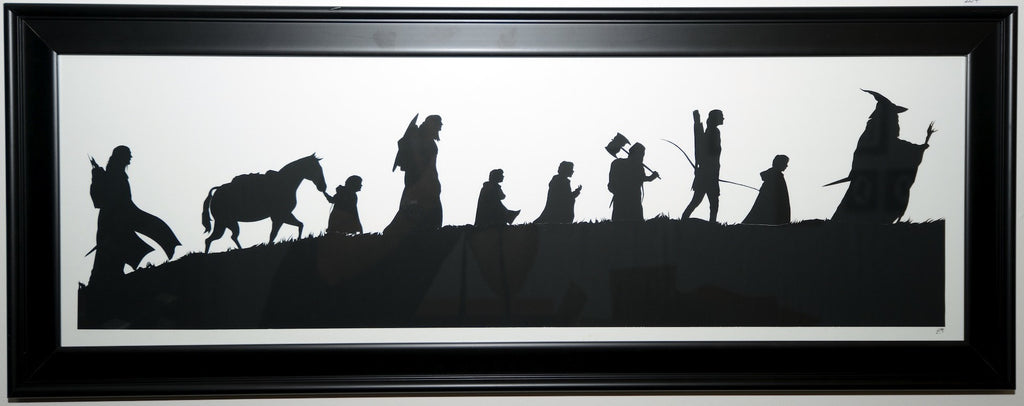 "204.  ""The Fellowship of the Ring"" by Jordan Monsell - Hero Complex Gallery"