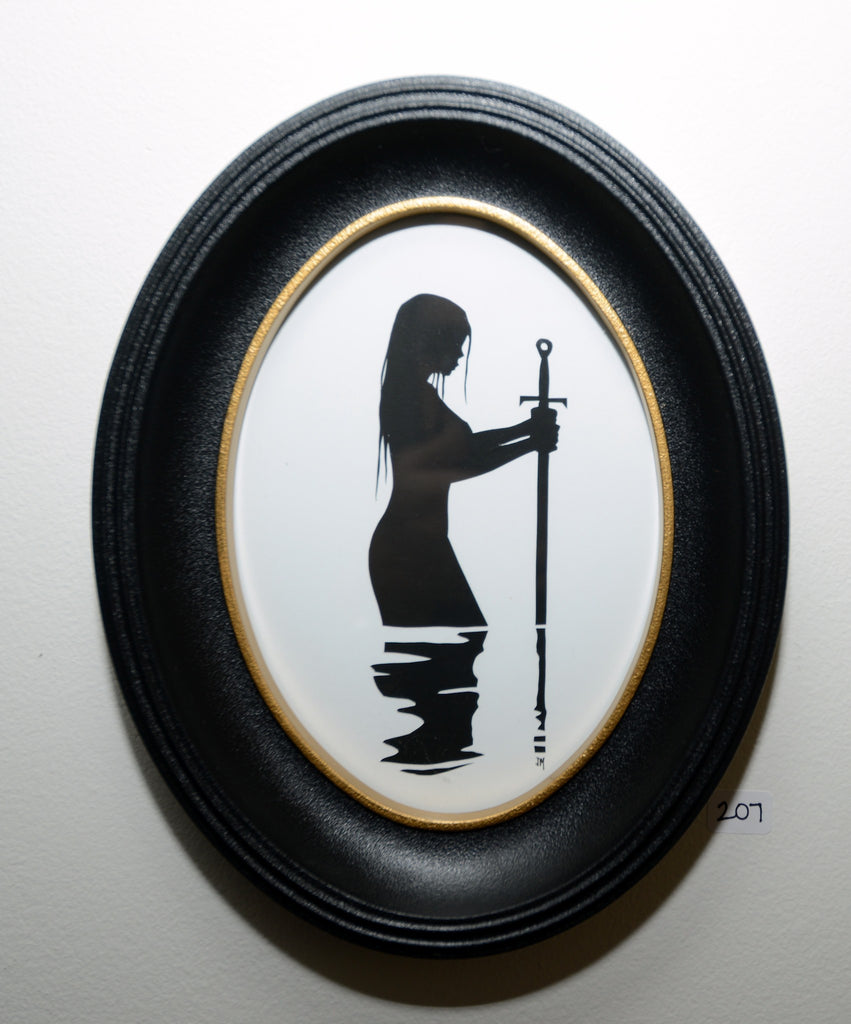 "207.  ""The Lady of the Lake"" by Jordan Monsell - Hero Complex Gallery"