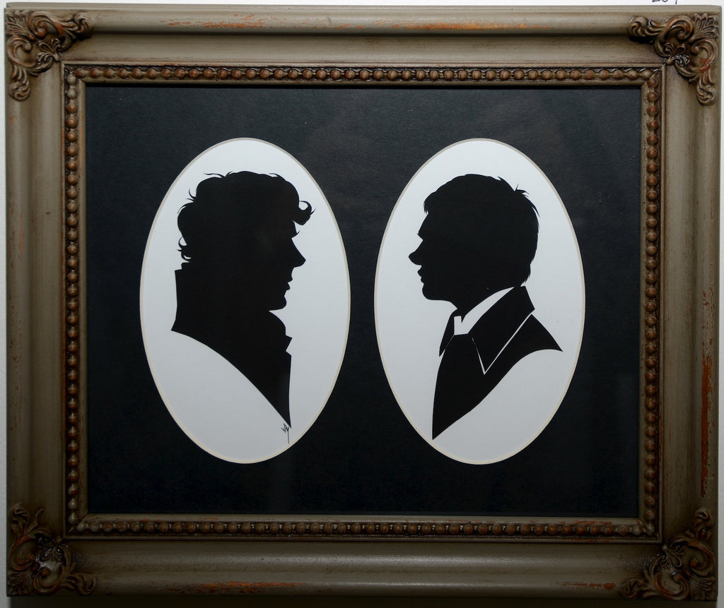 "209.  ""Sherlock and Watson"" by Jordan Monsell - Hero Complex Gallery"