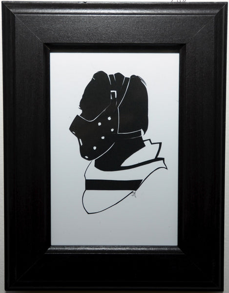 "216.  ""Hannibal Lecter"" by Jordan Monsell - Hero Complex Gallery"
