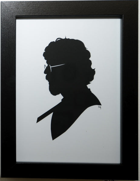 "219.  ""Jerry Garcia (Grateful Dead)"" by Jordan Monsell - Hero Complex Gallery"
