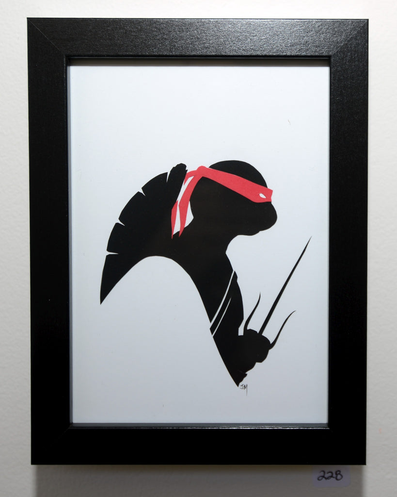"228.  ""Raphael (Ninja Turtles)"" by Jordan Monsell - Hero Complex Gallery"