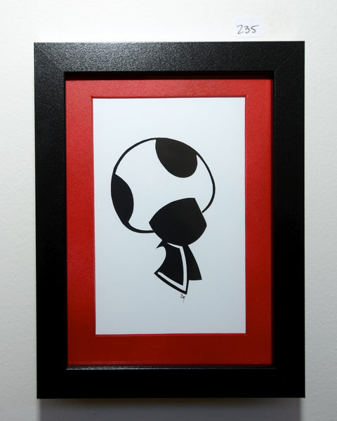 "235.  ""Toad (Super Mario)"" by Jordan Monsell - Hero Complex Gallery"
