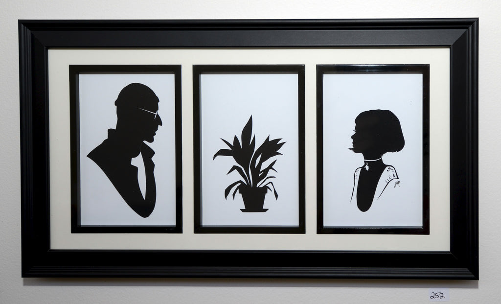 "252.  ""Leon, plant, and Mathilda (The Professional)"" by Jordan Monsell - Hero Complex Gallery"