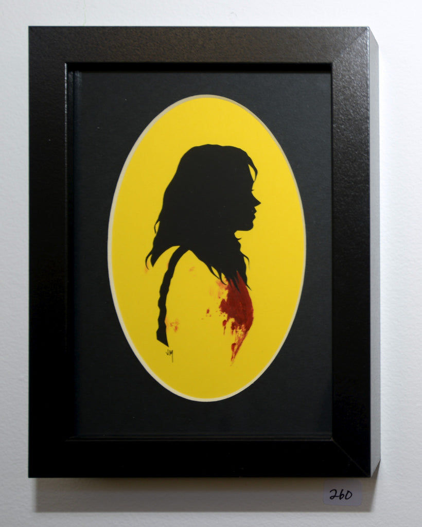 "260.  ""The Bride (Kill Bill)"" by Jordan Monsell - Hero Complex Gallery"