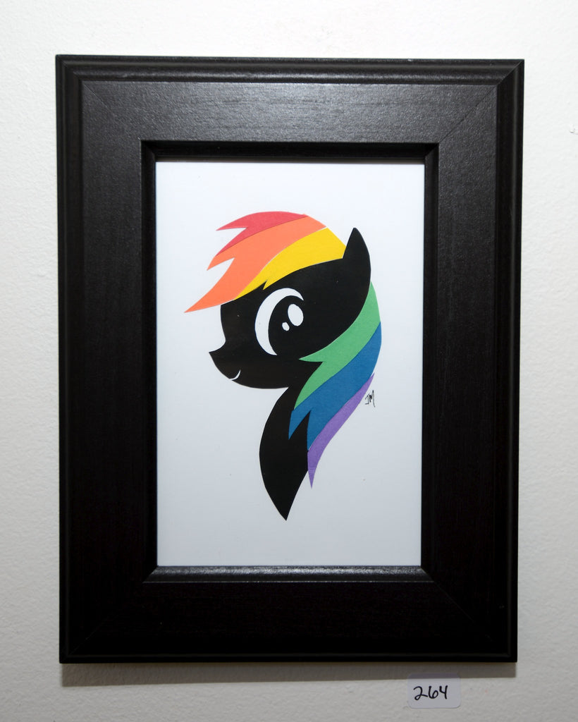 "264.  ""Rainbow Dash (My Little Pony)"" by Jordan Monsell - Hero Complex Gallery"
