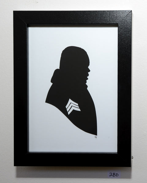 "280.  ""Sgt. Al Powell (Die Hard)"" by Jordan Monsell - Hero Complex Gallery"