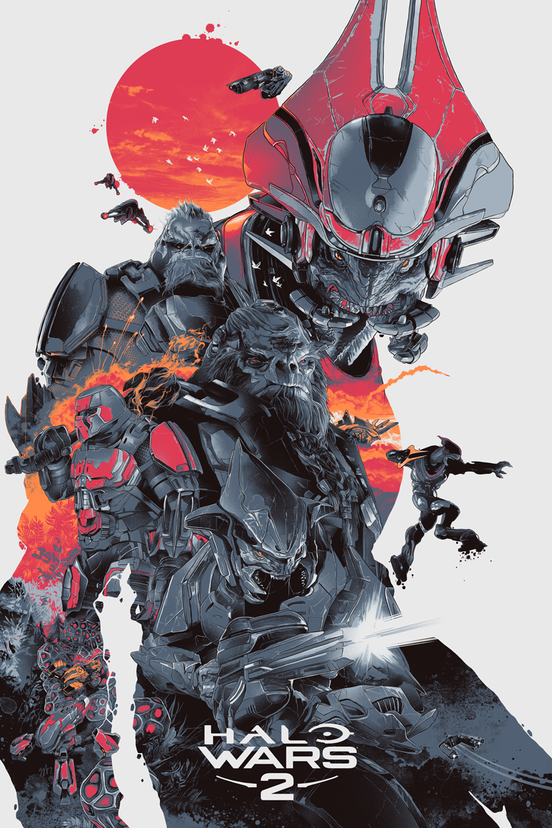 Halo Wars 2 Collection - Hero Complex Gallery