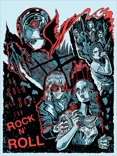 """He Sold His Soul For Rock N Roll"" by HagCult"