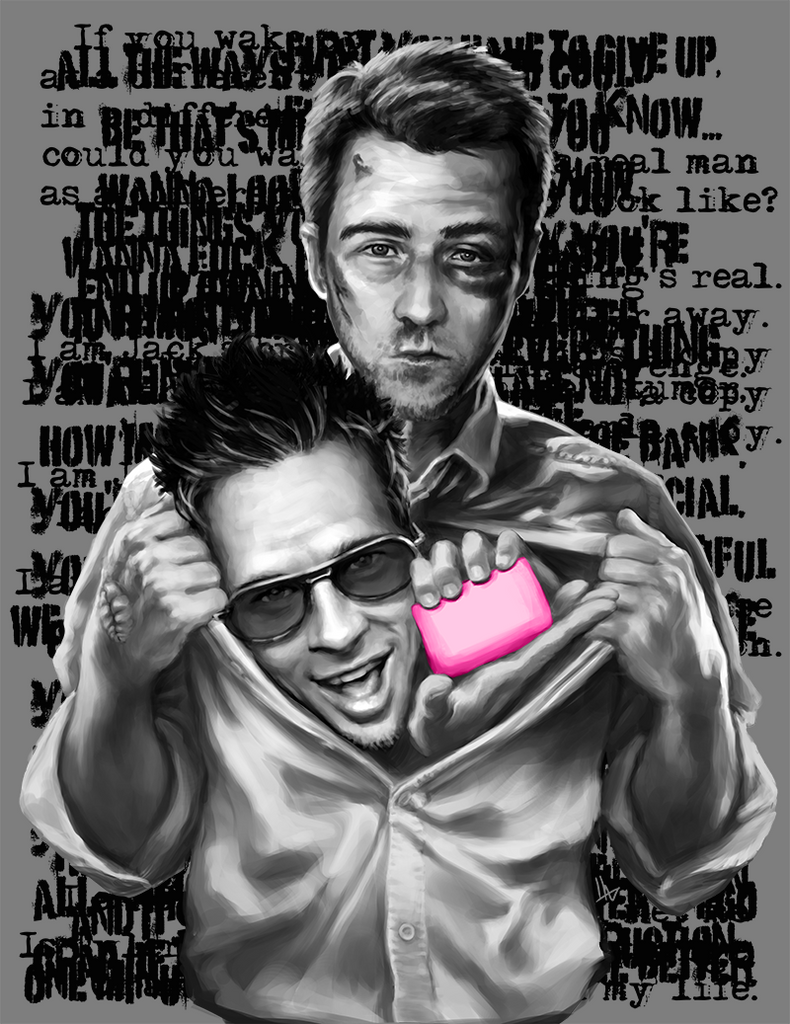"""Super Fight Club Man"" by hugohugo - Hero Complex Gallery"