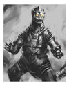 """Mechagodzilla Rises!"" by Huy ""WeeArts"" Dinh - Hero Complex Gallery"