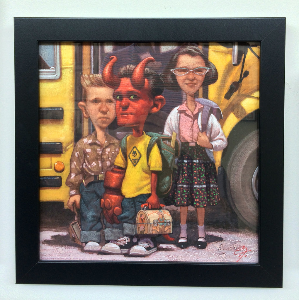 """School Days"" by CF Payne $750.00 - SOLD OUT - Hero Complex Gallery"