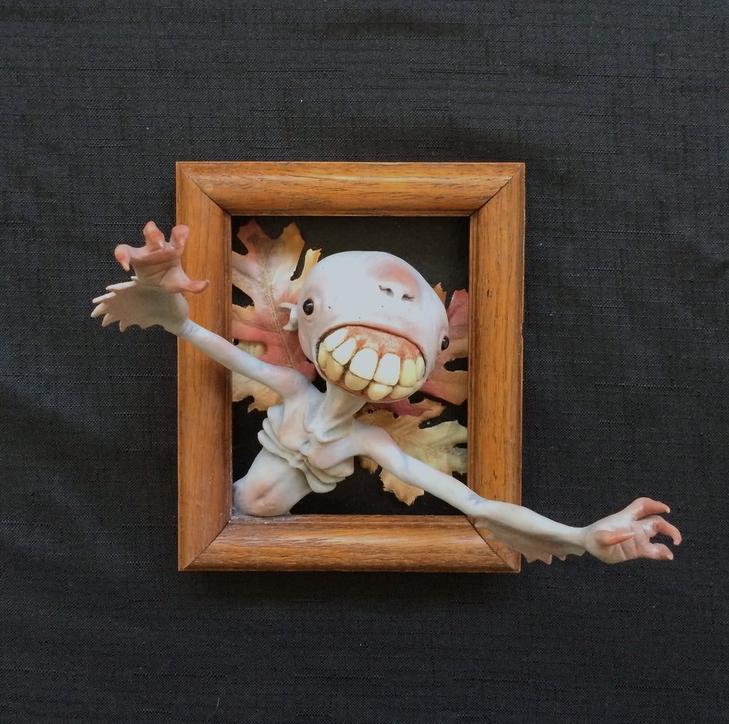 """Tooth Fairy"" by Dawn M. Schiller $300.00 - SOLD OUT - Hero Complex Gallery  - 3"