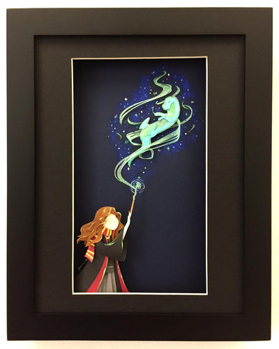 """Hermione's Patronus"" by Jackie Huang"