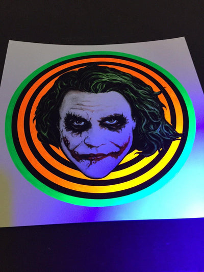 """Joker Badge"" by Nathan Anderson"