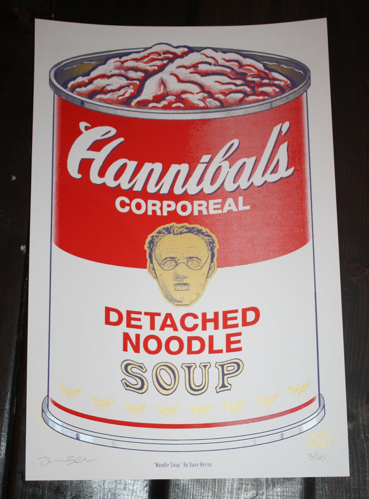 """Noodle Soup"" by Dave Berns - Hero Complex Gallery  - 2"