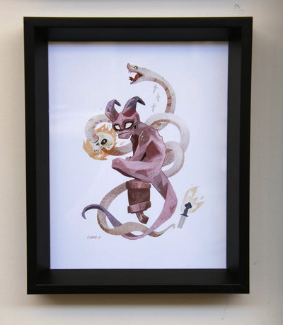 """The Boy"" by Keiko Murayama / Cake-O $150.00 - SOLD OUT - Hero Complex Gallery  - 2"
