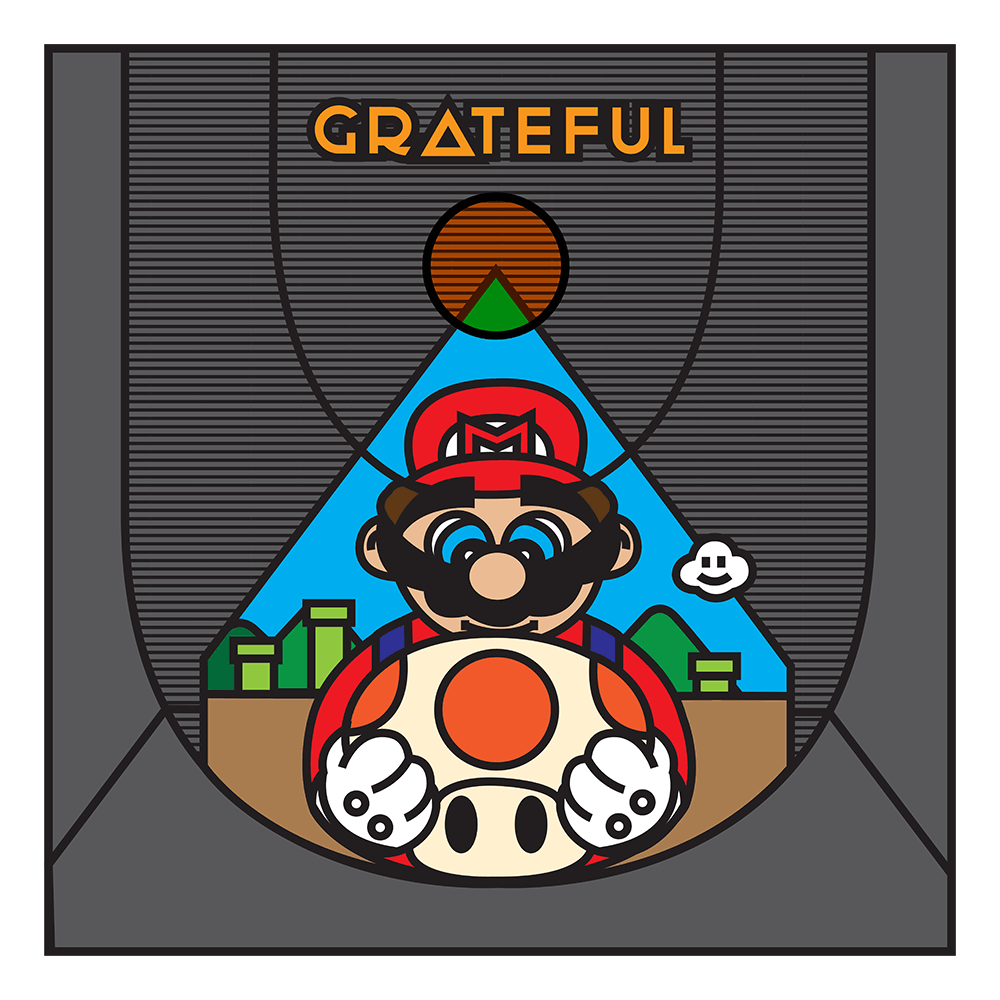 """Grateful Mario"" by Ibraheem Youssef"