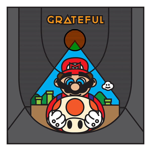 """Grateful Mario"" by Ibraheem Youssef - Hero Complex Gallery"