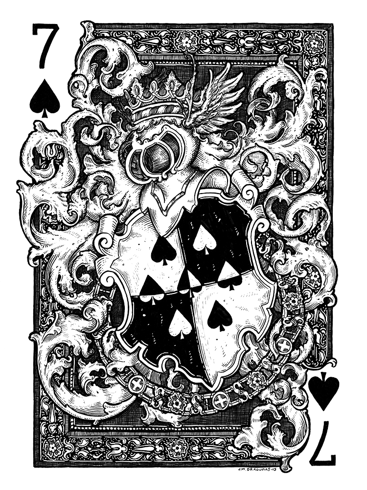 7 of Spades by JM Dragunas
