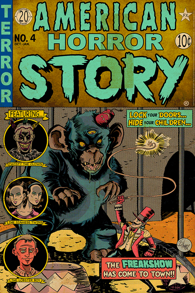 """American Horror Story Issue 4: Freakshow"" by J.Q. Hammer - Hero Complex Gallery"