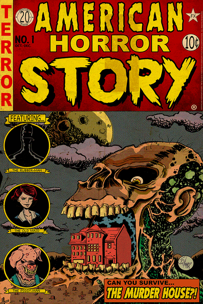 """American Horror Story Issue 1: Murder House"" by J.Q. Hammer - Hero Complex Gallery"