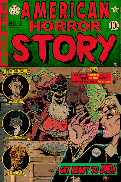 """American Horror Story Issue 2: Asylum"" by J.Q. Hammer - Hero Complex Gallery"