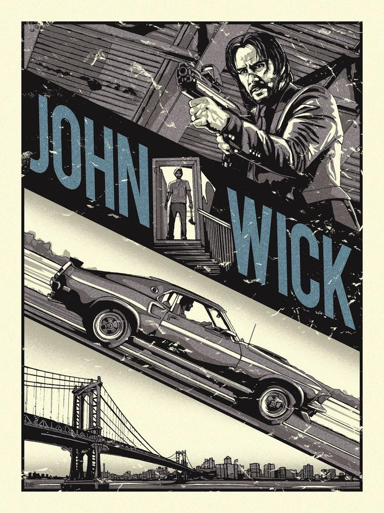"""John Wick"" by New Flesh - Hero Complex Gallery"