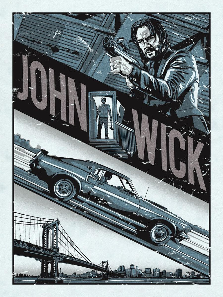 """John Wick"" Variant by New Flesh - Hero Complex Gallery"