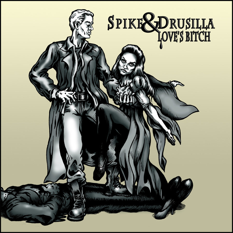 """Spike & Drusilla - Love's Bitch (Sunnydale Records)"" Framed by Jason Brown $65.00 - Hero Complex Gallery"