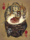"Ace of Hearts: ""Tionscnamh"" by James Acken - Hero Complex Gallery"