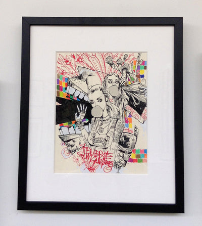 """GET YOUR BACK UP OFF THE WALL"" by Jim Mahfood - Hero Complex Gallery  - 2"