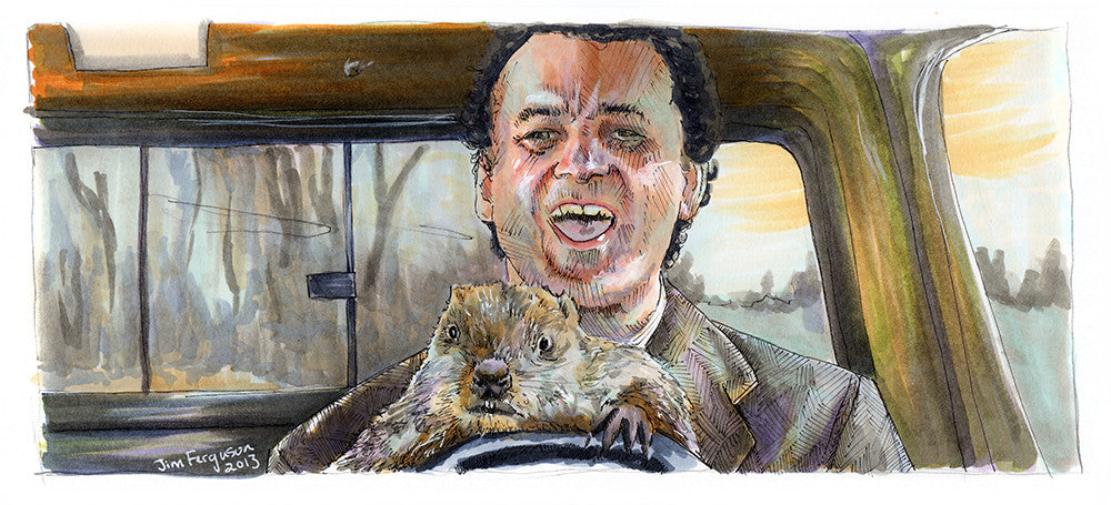 """Don't Drive Angry"" by Jim Ferguson - Hero Complex Gallery"