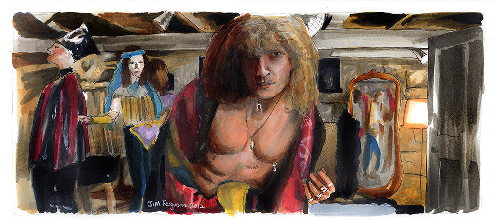 """Goodbye Horses"" by Jim Ferguson - Hero Complex Gallery"