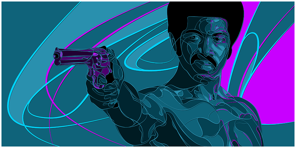 """Black Dynamite"" by Joe Vetoe - Hero Complex Gallery"
