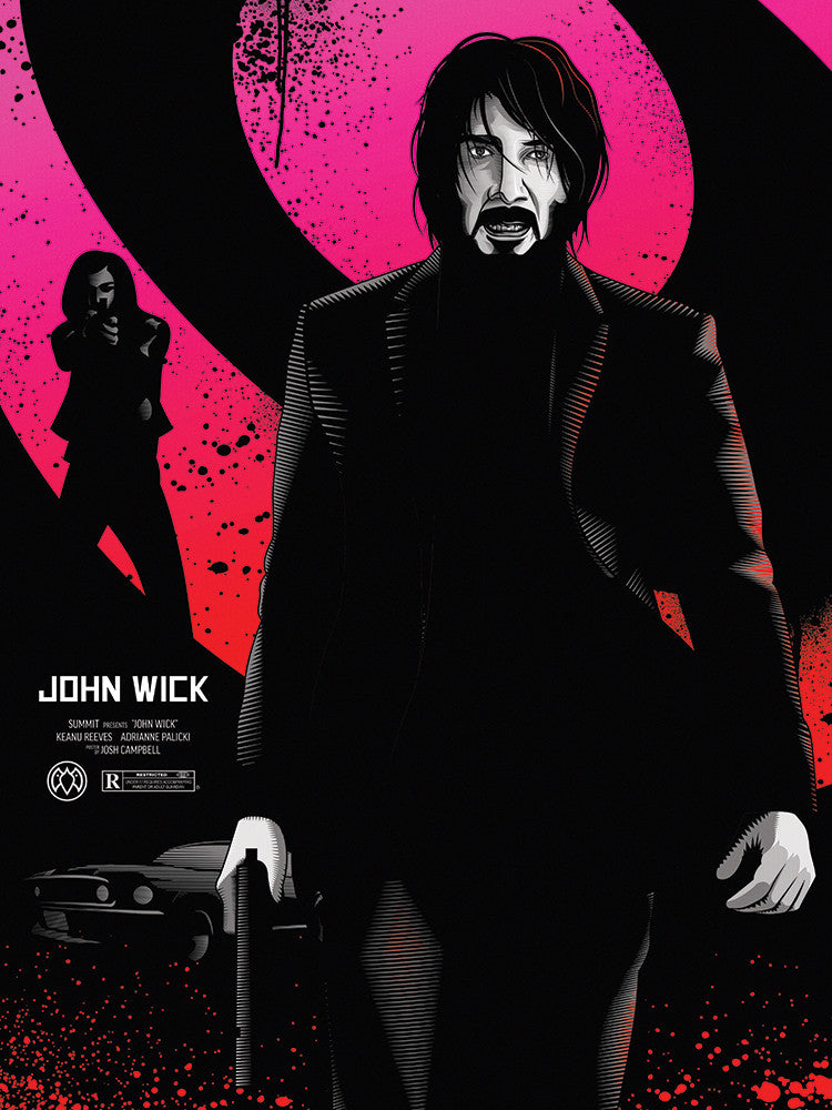 """John Wick Hunts the Boogie Man"" by Payback Penguin - Hero Complex Gallery"
