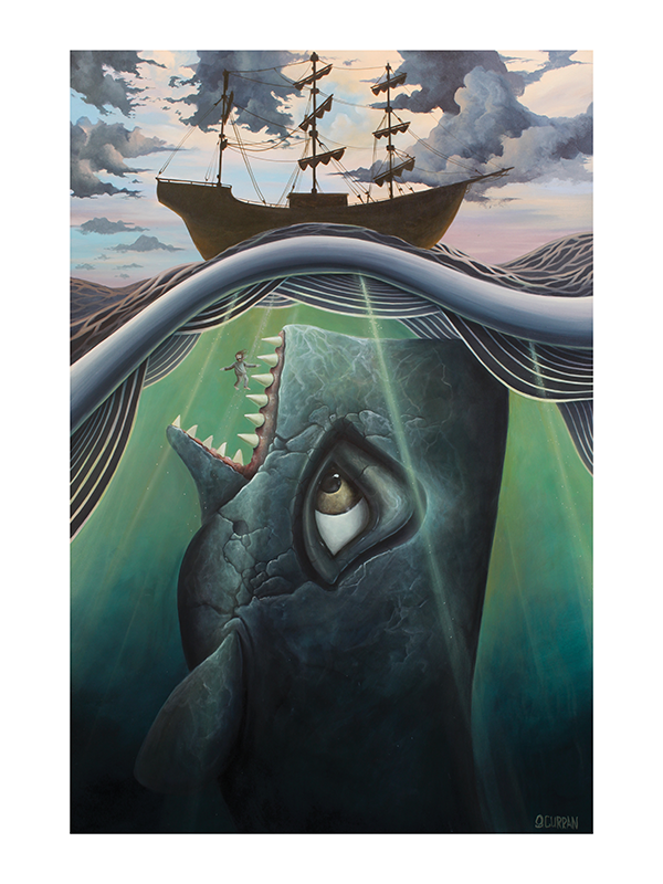 """Jonah"" by Graham Curran - Hero Complex Gallery"