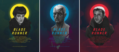 """Blade Runner"" Set of 3 by Jordan Buckner"