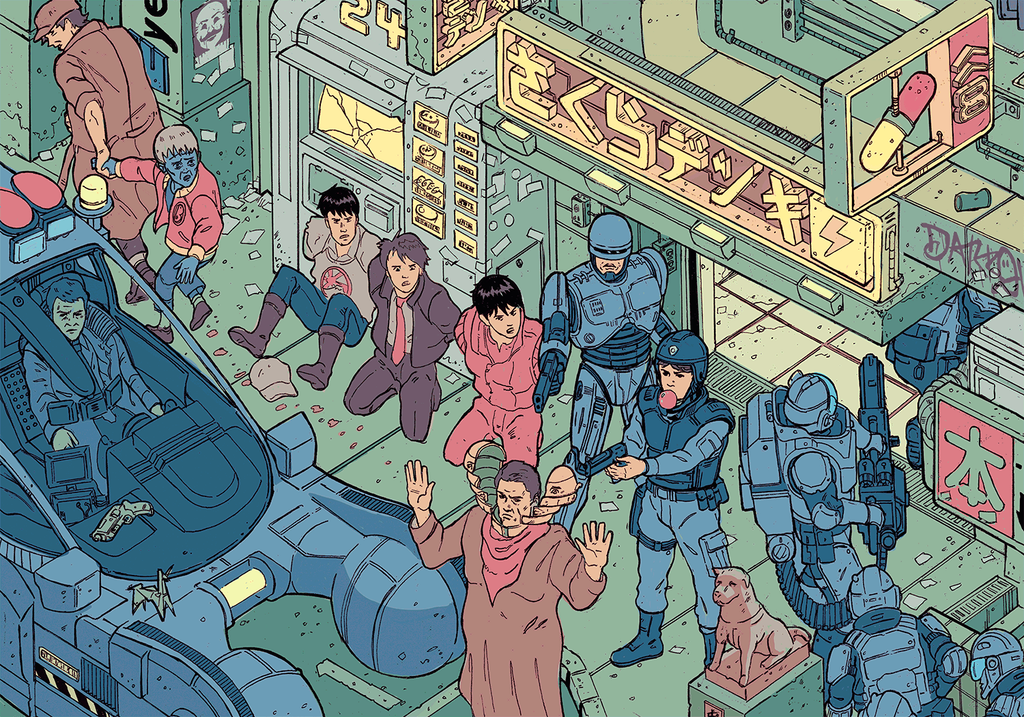 """The Raid"" – Section 1 by Josan Gonzalez & Laurie Greasley - Hero Complex Gallery"
