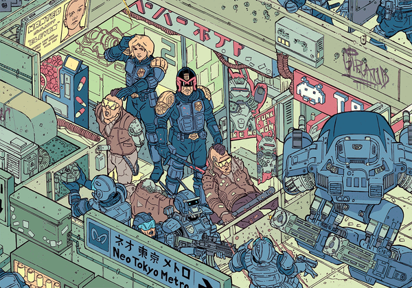"""The Raid"" – Section 2 by Josan Gonzalez & Laurie Greasley - Hero Complex Gallery"