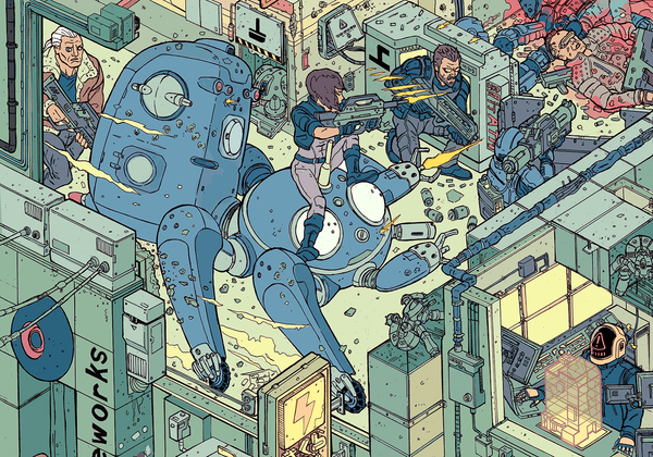 """The Raid"" – Section 3 by Josan Gonzalez & Laurie Greasley - Hero Complex Gallery"