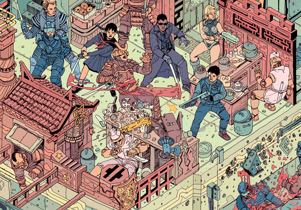 """The Raid"" – Section 5 by Josan Gonzalez & Laurie Greasley - Hero Complex Gallery"