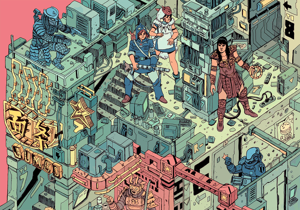 """The Raid"" – Section 7 by Josan Gonzalez & Laurie Greasley - Hero Complex Gallery"